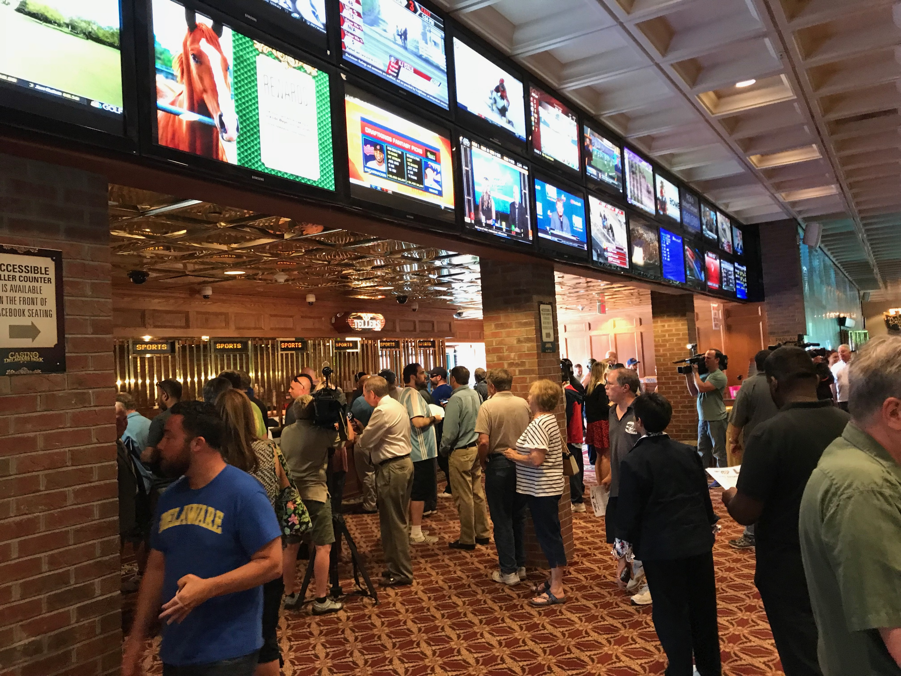 sports betting delaware park